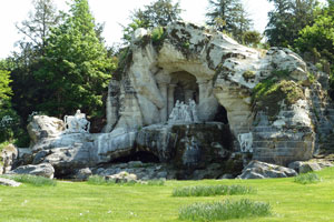 grotto of thesis at versailles