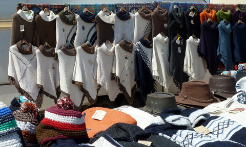 Cabo s Vicente Ponchos stall