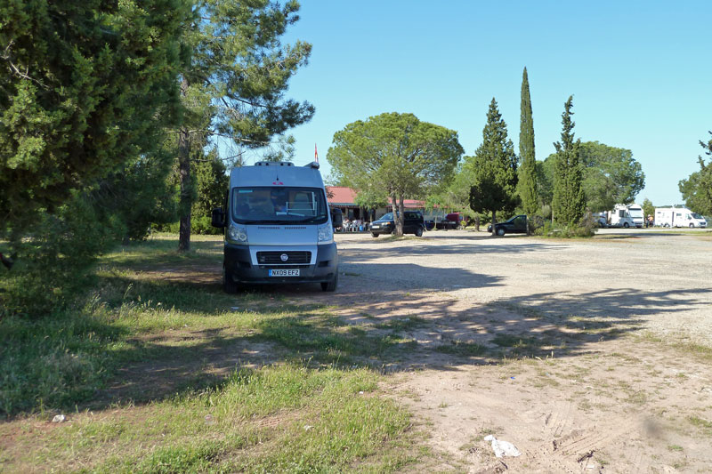 Parking at Barragem de Monte da Roche