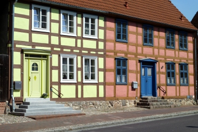 Robel timber framed houses