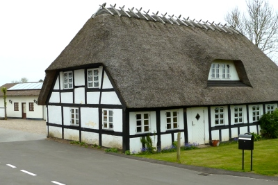 Danish thatched house