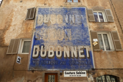 Aups Dubonnet sign