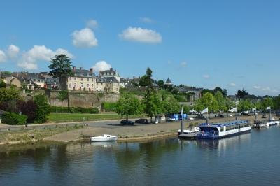 Chateau Gontier riverside