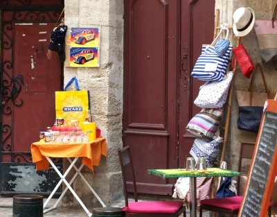 Pezenas attractive shop