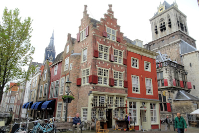 Delft traditional building