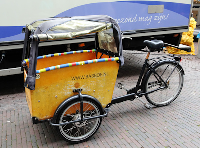 Delft bike with box