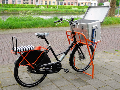 Delft delivery bike
