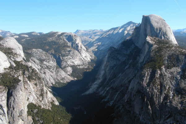 Yosemite Valley and Half Dome