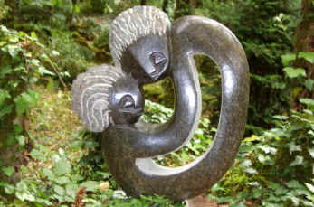 African sculpture at Cadiot