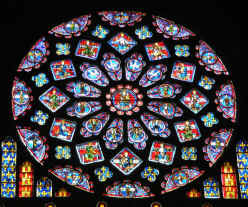 Chartres - rose window