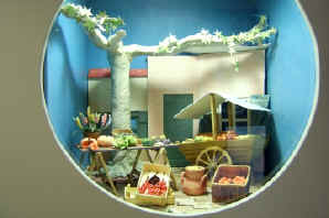 The Art of Sugarcraft displays Cordes-sur-Ciel