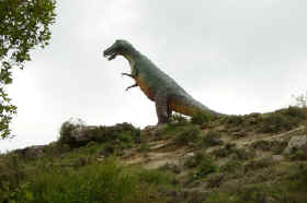 Dinosaur at Enciso