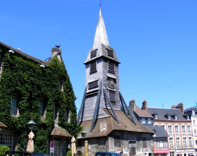 Honfleur wooden church tower