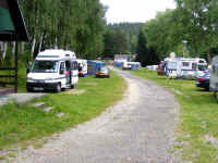 Camping Frymburk MH pitches