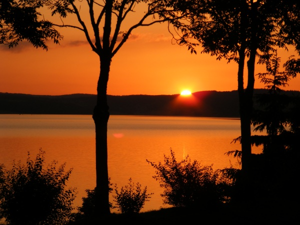Lac de Naussac sunset